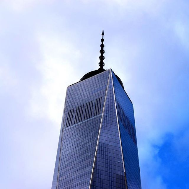 Reflective, inspiring and magnificent. The perfect symbol for New York. #worldtradecenter #newyork #NYC #USA #travel #skyscraper #America #building #sky #love #travelpics #beautiful #incredible #amazing #instalike #instagram #travelpics #instatravel #like4like #instalike #picoftheday #photography #roundtheworld #worldtrip #wanderlust #city #modern #architecture #InstagramNYC