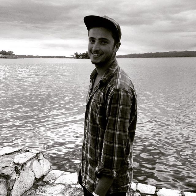 In a stare. 🌎 #guatemala #me #lake #travel #adventure #blacknwhite #fun #instalike #picoftheday #backpacking #travelpics #happy #instacool #hat #photooftheday #like4like #likeforfollow #instafun #travelling #cool #chill  #photography #explore #exploreeverything #wanderlust #worldtrip
